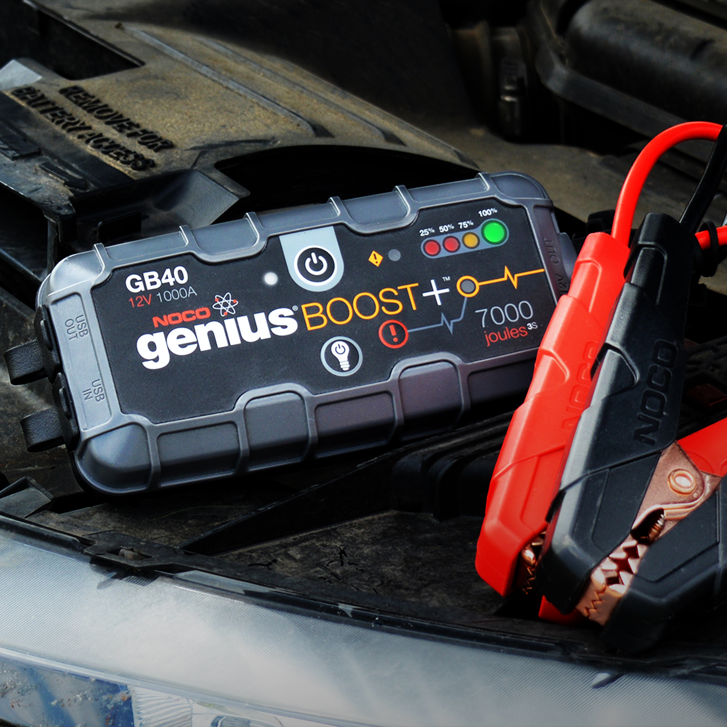 The All New Emergency Lithium Ion Car Battery Jump Starter and Portable Power Bank Booster Pack.