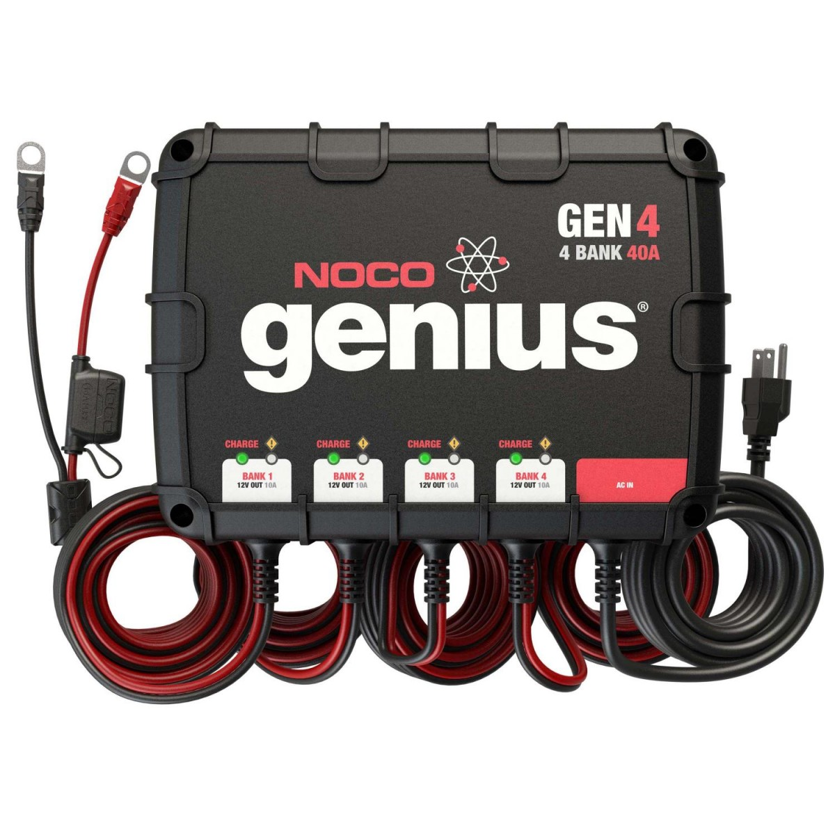NOCO 4 Bank 40A Board Battery Charger GEN4