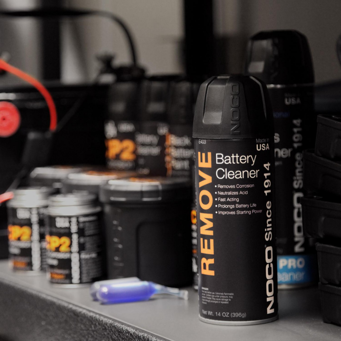 Remove Battery Cleaner