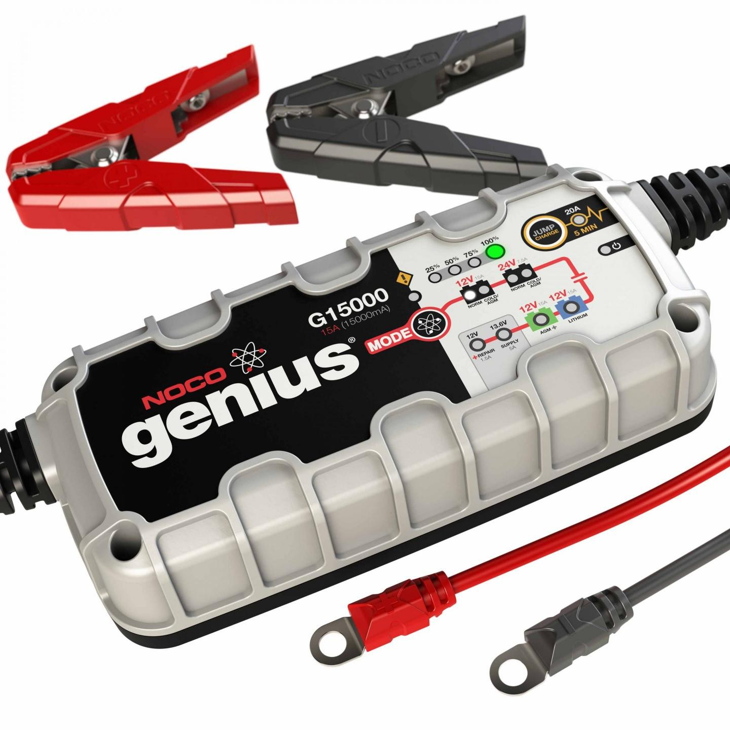 Noco 15a Battery Charger With Engine Start G15000