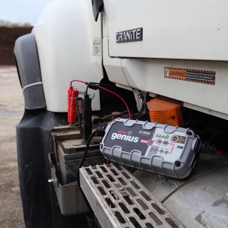 12v 24v 15a Ultrasafe Battery Charger With Jumpcharge