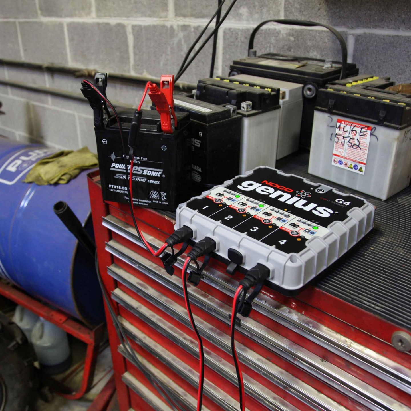 Noco 4 4a 4 Bank Battery Charger And Maintainer G4