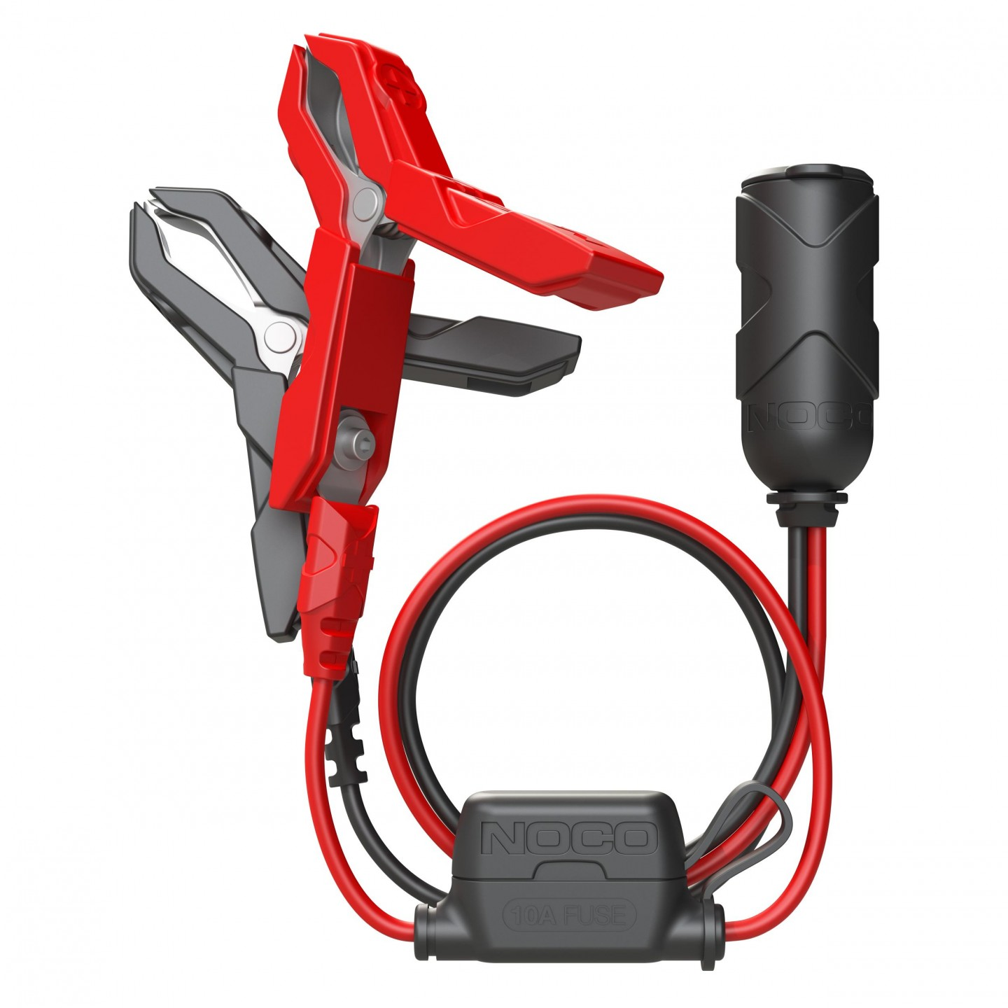 gc017 12v plug w/ battery clamps