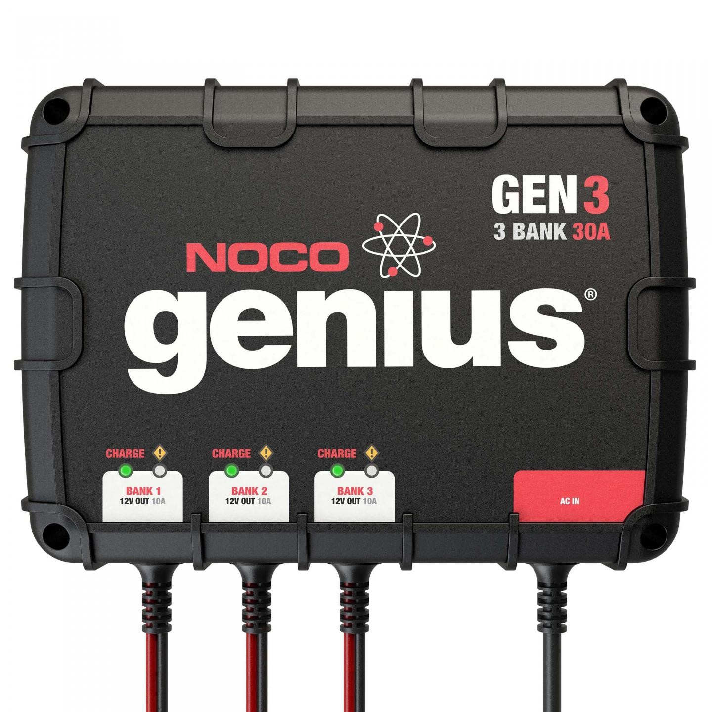 Gen3 3 Bank 30a On Board Battery Charger