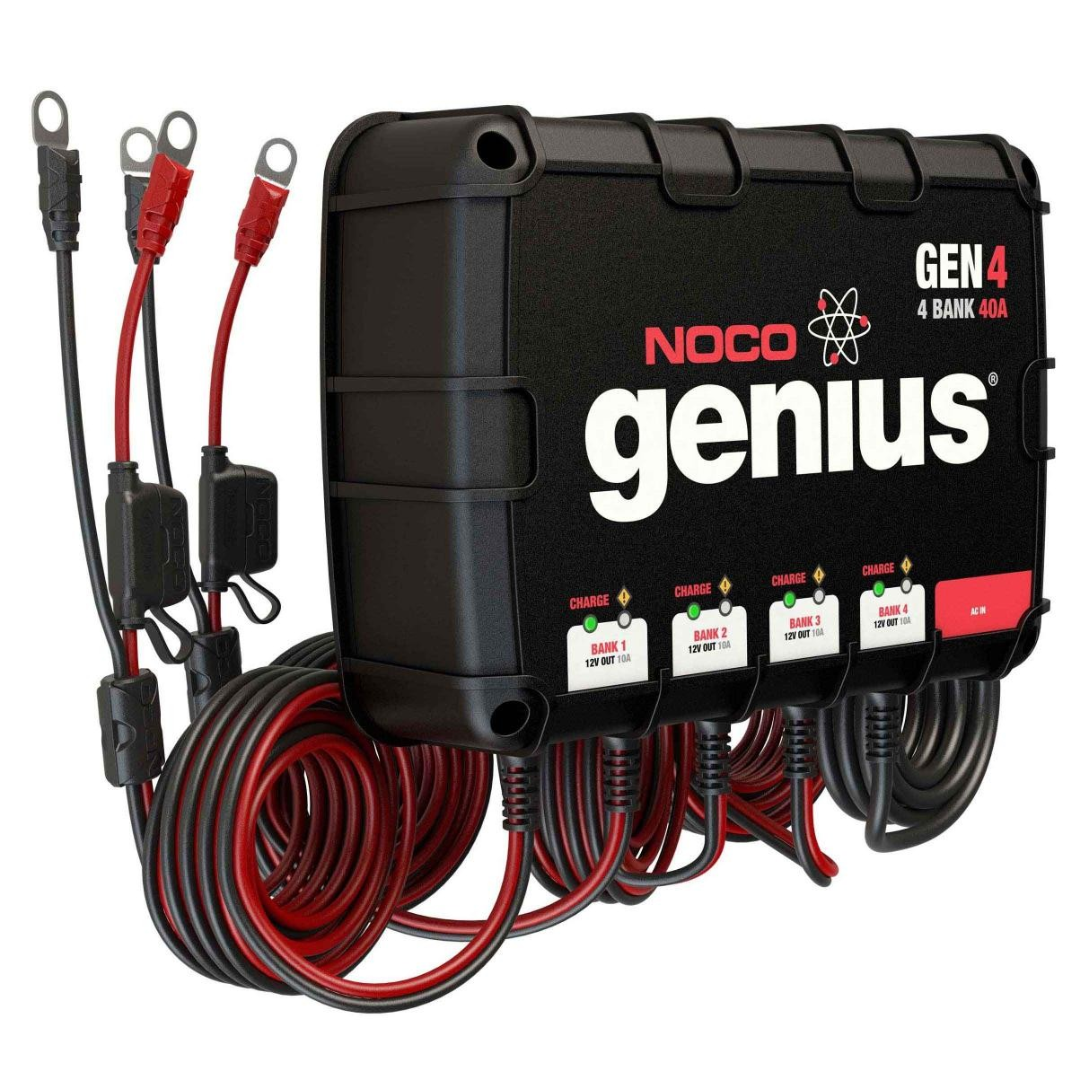 noco 4 bank 40a on board battery charger gen4 RV Battery Bank Wiring Diagram at 3 Bank On Board Battery Wiring Diagram