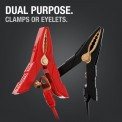 Dual Purpose. Clamps with eyelets built in