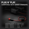 NOCO GC003 12V Product Shown With Compatible Genius Battery Chargers