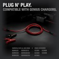 NOCO GC004 10-Foot Extensions Cable Plug-N-Play With Genius Chargers and Accessories