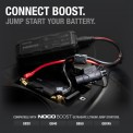 GBC007 with GB40 Boost Jump Starting VESPA Battery. Compatible Boost models: GB2, GB40, GB50 and GBX45.