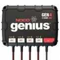 NOCO Genius GEN4 4-Bank 40 Amp Waterproof On-Board Marine Battery Charger