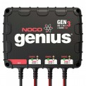 NOCO Genius GENM3 3-Bank 8 Amp Waterproof On-Board Marine Battery Charger