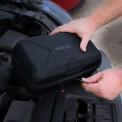 NOCO GBC014 EVA Case being unzipped to jump start vehicle