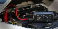 GB500 12V and 24V jump starter starting jeep 12V battery lifestyle