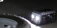GB500+ 12V and 24V jump starter illuminating trailer lifestyle