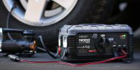 GB500+ 12V and 24V jump starter 12V tire pump lifestyle