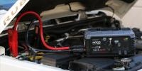 GB500+ 12V and 24V jump starter starting jeep 12V battery lifestyle