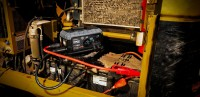 GB500+ 12V and 24V jump starting heavy CAT equipment