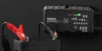 GENIUSPRO50 6V, 12V, 24V Smart Battery Charger, Power Supply and Desulfator