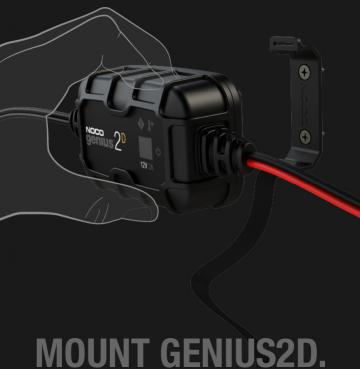 NOCO Genius 2D Simple Installation Mounting Charger