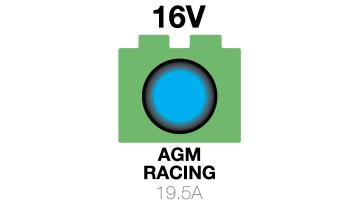 16V AGM Racing Battery Charger