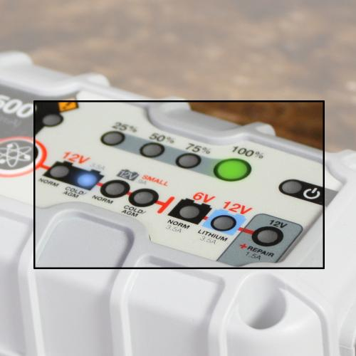 Noco G3500 Charging Modes Support