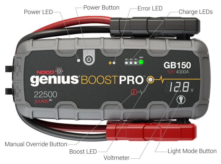 Noco 4000a Lithium Jump Starter Gb150