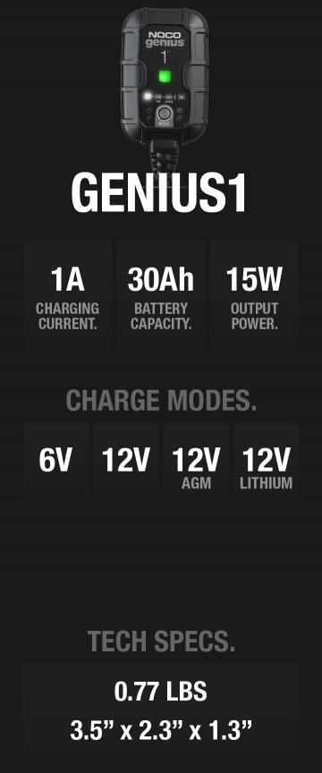 GENIUS1 1 Amp