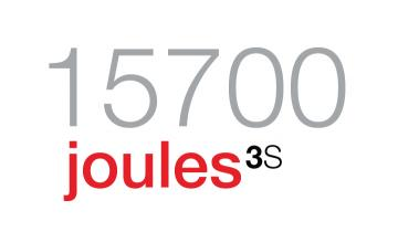 15,700 joules.