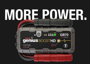 NOCO Genius 12 Volt and 24 Volt 20,000 Amp Lithium-Ion Jump Starter For Gasoline & Diesel Class 8+/CE High-Displacement Vehicles, Equipment, Trucks, and More.