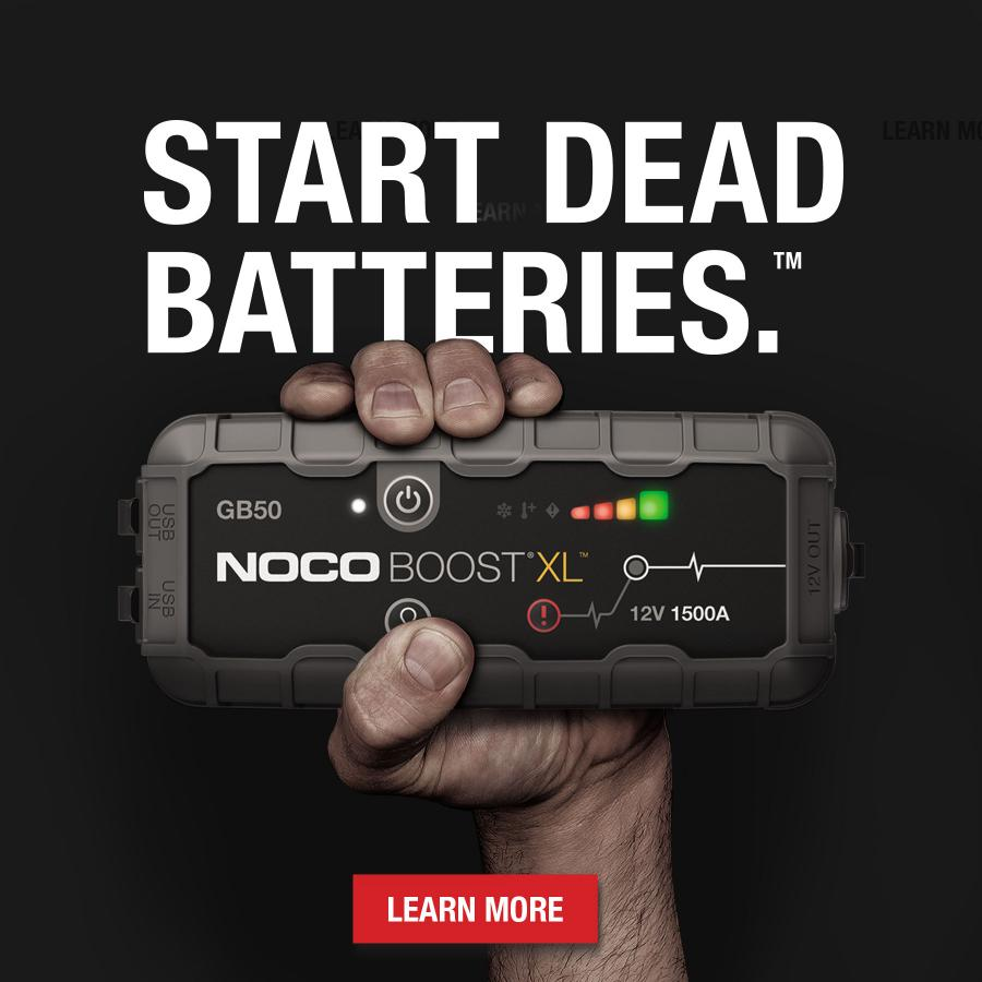 Our most popular jump starters just got upgraded. Featuring more power and built with the all-new needle-nose clamps for accessing smaller terminals.